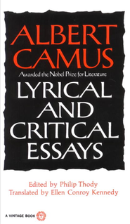 Lyrical and Critical Essays - eBook  -     By: Albert Camus