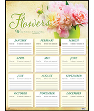 Flower Chart, 1 Chronicles 16:29   -