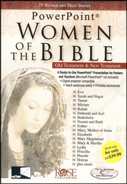 Women of the Bible - PowerPoint CD-ROM   -