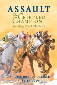 Assault: The Crippled Champion - eBook  -     By: Marjorie Hodgson Parker     Illustrated By: Charles Shaw((Illustrator)