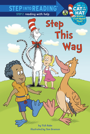 Step This Way (Dr. Seuss/Cat in the Hat) - eBook  -     By: Tish Rabe     Illustrated By: Tom Brannon