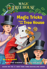Magic Tricks from the Tree House - eBook   -     By: Mary Pope Osborne, Natalie Pope Boyce     Illustrated By: Sal Murdocca
