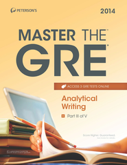Master the GRE: Analytical Writing: Part III of V - eBook  -     By: Margaret Moran