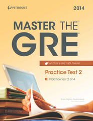 Master the GRE: Practice Test 2: Practice Test 2 of 4 - eBook  -     By: Margaret Moran