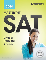 Master the SAT Critical Reading: Part III of V - eBook  -