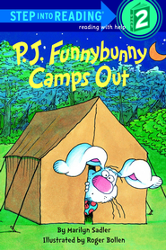 P. J. Funnybunny Camps Out - eBook  -     By: Marilyn Sadler