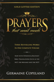 Prayers That Avail Much Gold Letter Edition - eBook  -     By: Germaine Copeland