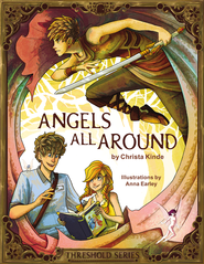 Angels All Around (Threshold Series Prequel) - eBook  -     By: Zondervan