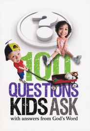 100 Questions Kids Ask with answers from God's Word - eBook  -