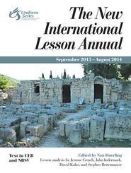 The New International Lesson Annual 2013-2014: September 2013-August 2014 - eBook  -     Edited By: Nan Duerling     By: Nan Duerling, ed.