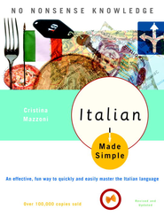 Italian Made Simple: Revised and Updated - eBook  -     By: Cristina Mazzoni