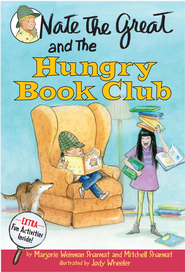 Nate the Great and the Hungry Book Club - eBook  -     By: Marjorie Weinman Sharmat, Mitchell Sharmat     Illustrated By: Jody Wheeler