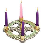 Celtic Advent Wreath   -