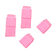 Unifix Cubes (Pink, 100 Pieces in a Pouch)   -