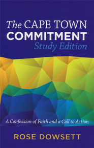 The Cape Town Commitment: Study Edition - eBook  -     By: Rose Dowsett