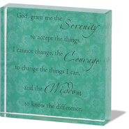Serenity Prayer Paperweight  -