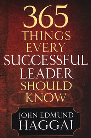 365 Things Every Successful Leader Should Know - eBook  -     By: John Edmund Haggai