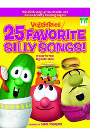 VeggieTales 25 Favorite Silly Songs EZ Big Note Version   -