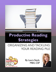 Productive Reading Strategies: Organizing and Tackling Your Reading Pile - eBook  -     By: Laura Stack