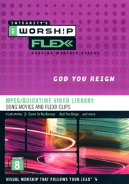 iWorship Flexx: God You Reign MPEG Library   -