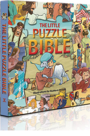 The Little Puzzle Bible   -     Illustrated By: Gustavo Mazali
