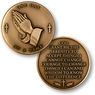 Serenity Prayer Coin   -