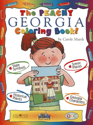 Georgia Coloring Book, Grades PreK-3  -     By: Carole Marsh