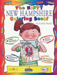 New Hampshire Coloring Book, Grades PreK-3  -     By: Carole Marsh