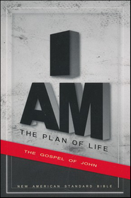 The Plan of Life: NASB Gospel of John, pack of 10  -