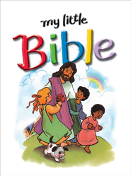 My Little Bible - eBook  -     By: Stephanie Britt