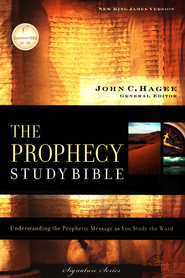 NKJV Prophecy Study Bible - hardcover - Slightly Imperfect  -     Edited By: John Hagee     By: John Hagee, General Editor