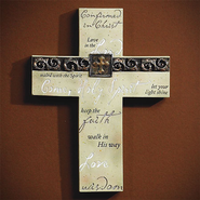 Confirmed in Christ--Wall Cross   -