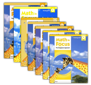 Math in Focus: The Singapore Approach Grade K Student Pack  -