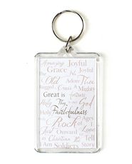 Count Your Blessings Keyring  -