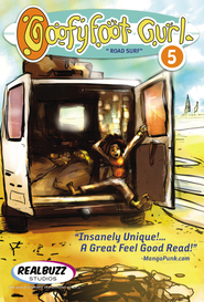 Road Surf: Goofyfoot Gurl #5 - eBook  -     By: Realbuzz Studios