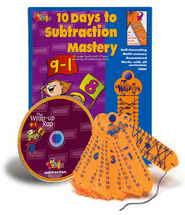 10 Days to Subtraction Mastery with Wrap-Ups & CD   -     By: Homeschool