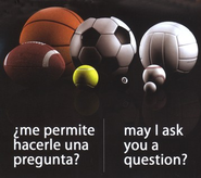 May I Ask You a Question? - Spanish/English Multi-Sport Pack of 25  -