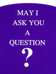 May I Ask You a Question? - Original Blue Pack of 25   -