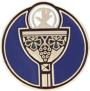 Holy Eucharist Pin  -