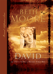 David: 90 Days with A Heart Like His - eBook  -     By: Beth Moore