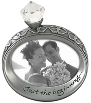 Diamond Ring Shape Photo Frame  -