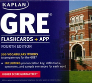 GRE Vocabulary Flashcards  -     By: Kaplan