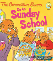 Living Lights: The Berenstain Bears Go to Sunday School - eBook   -     By: Stan Berenstain, Jan Berenstain, Michael Berenstain