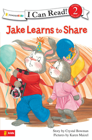 Jake Learns to Share - eBook  -     By: Crystal Bowman