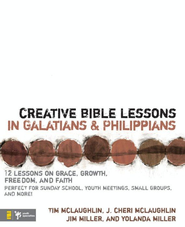 Creative Bible Lessons in Galatians& Philippians: 12 Sessions on Grace, Growth, Freedom, and Faith - eBook  -     By: Jim Miller, Yolanda Miller