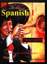 High School Spanish for the Christian Student - Teacher's Edition with CDs - Slightly Imperfect  -