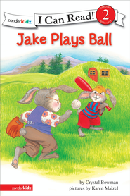 Jake Plays Ball: Biblical Values - eBook  -     By: Crystal Bowman, Karen Maizel