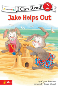 Jake Helps Out: Biblical Values - eBook  -     By: Crystal Bowman, Karen Maizel