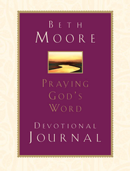 Praying God's Word Devotional Journal - eBook   -     By: Beth Moore