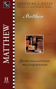 Shepherd's Notes on Matthew - eBook   -